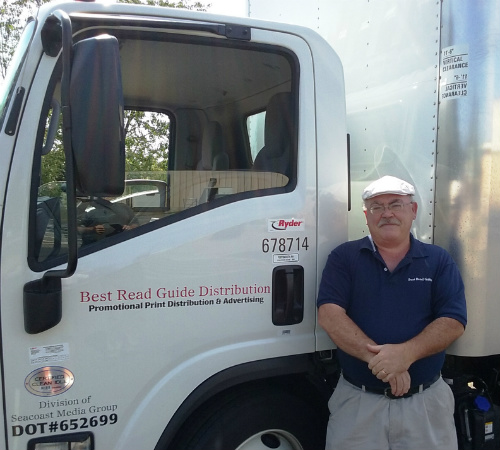 Steve with the Truck
